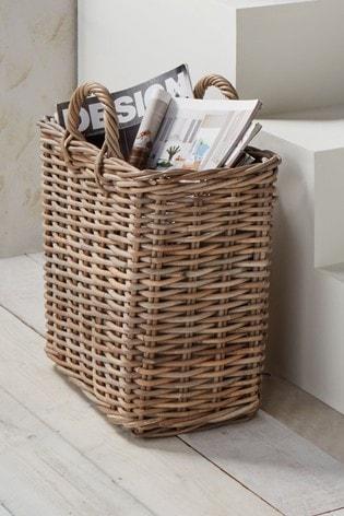 Kubu Magazine Storage Basket by Pacific