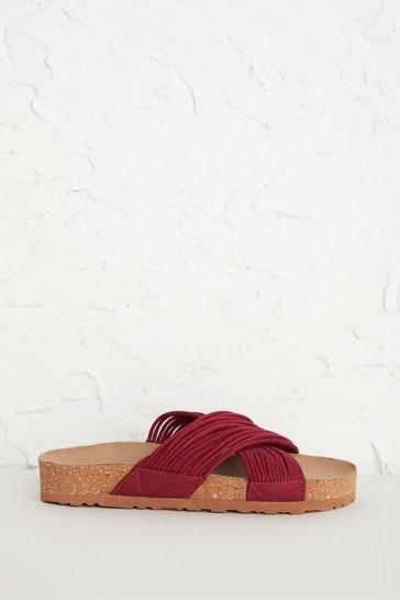 Seasalt Red Art Lover Sandals