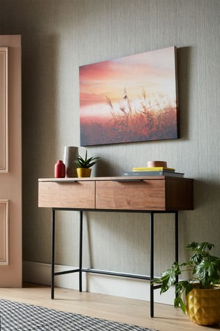 Morning Sunrise Meadow Wall Art by Art For The Home