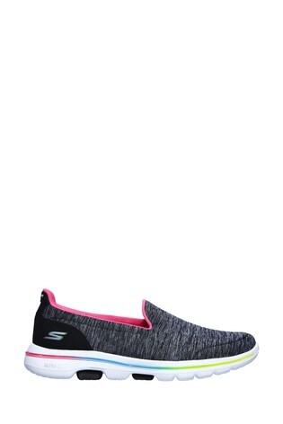 Skechers® Black Go Walk 5 Surprise Trainers
