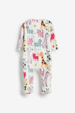 Bright Character Fleece Sleepsuit (0mths-3yrs)
