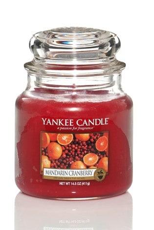 Yankee Candle Classic Medium Mandarin Cranberry Candle