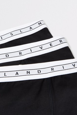 River Island Black Boxers Five Pack