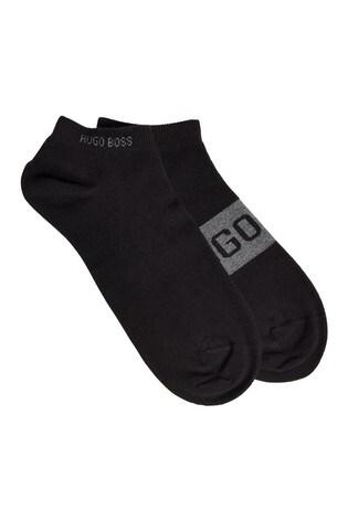 BOSS Logo Ankle Socks Two Pack