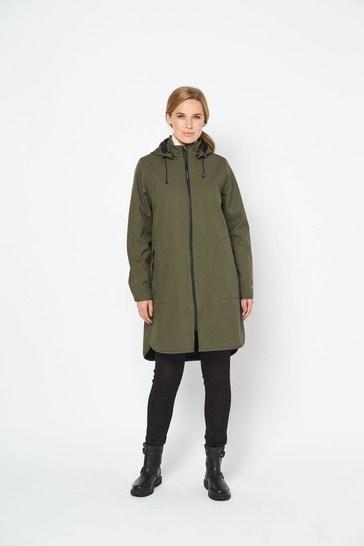 Ilse Jacobsen Hornbk Green Raincoat