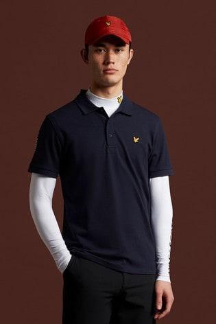 Lyle & Scott Golf Sleeve Logo Polo