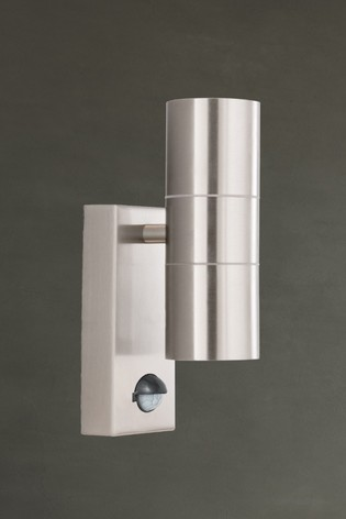 Crete 2 Light LED Outdoor & Porch Wall Light by Searchlight