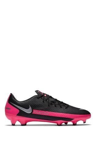 Nike Black/Pink Phantom GT Academy Multi Ground Football Boots