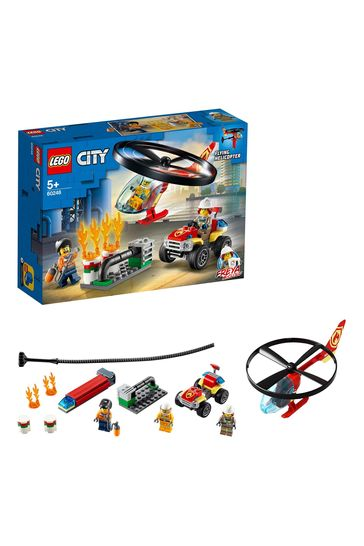 LEGO® City Fire Helicopter Response Building Set 60248