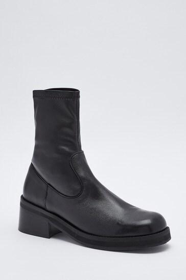 Mix/E8 Black Oliana Boots