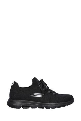 Skechers® Black Go Walk 5 Uprise Trainers