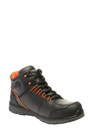 Regatta Black Dismantle S1P Safety Boots