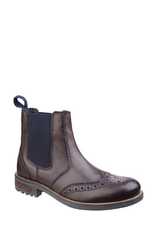 Cotswold Brown Cirencester Chelsea Brogues