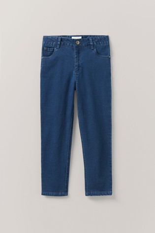 Crew Clothing Company Blue Mid Wash Skinny Fit Jeans