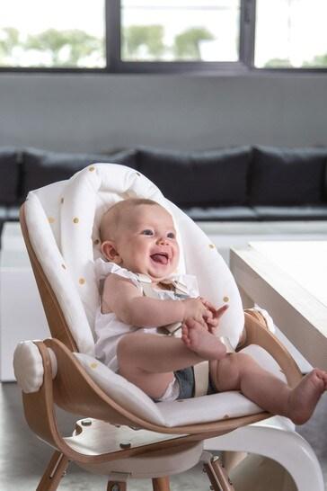 Evolu Newborn Seat Cushion Jersey Gold Dots