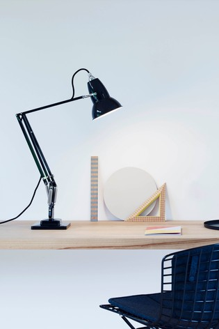 Anglepoise Original 1227 Jet Black Desk Lamp