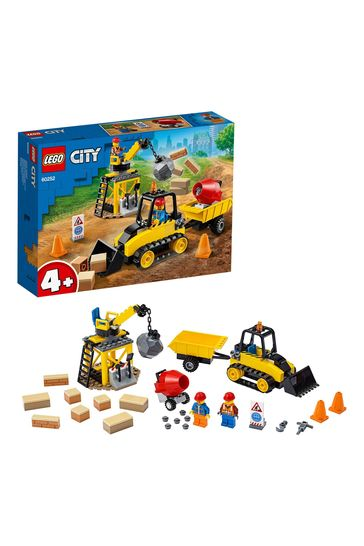 LEGO 60252 City Great Vehicles Construction Bulldozer Set