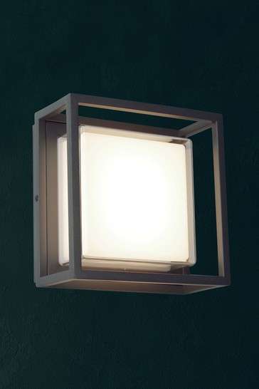 Monty Outdoor LED Square Wall Bracket by Searchlight