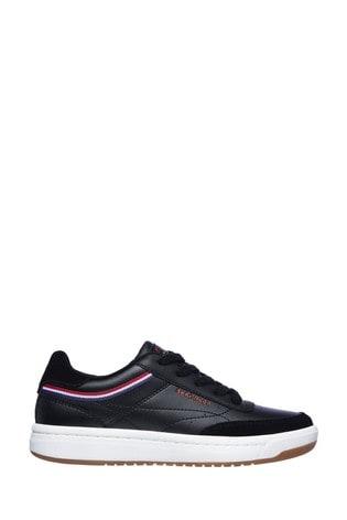Skechers® Black Downtown Klassic Kourts Trainers
