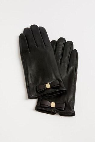 Ted Baker Frannca Bow Detail Gloves