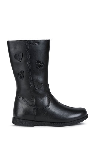 Geox Junior Girl's Shawntel Black Boots