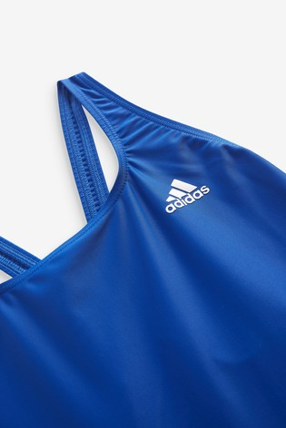 adidas 3 Stack Solid Swimsuit