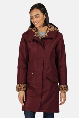 Regatta Purple Rimona Waterproof Jacket