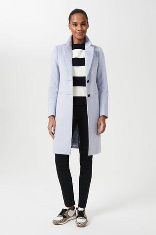 Hobbs Blue Tilda Coat