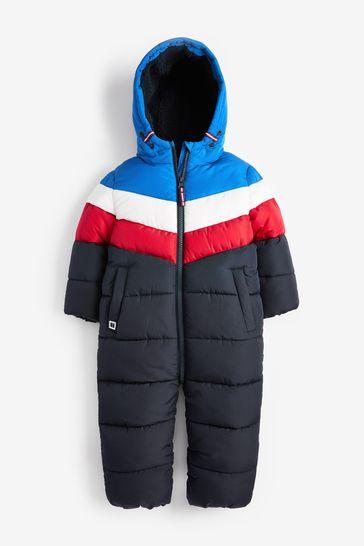Multi Chevron Snowsuit (3mths-7yrs)