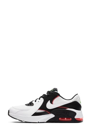 Nike White/Pink Air Max Excee Youth Trainers
