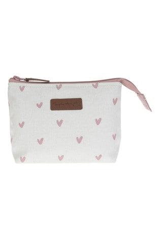 Sophie Allport Hearts Make Up Bag