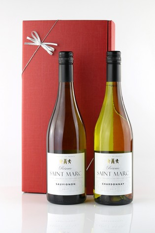 French Whites Twin Pack Gift Set by Le Bon Vin