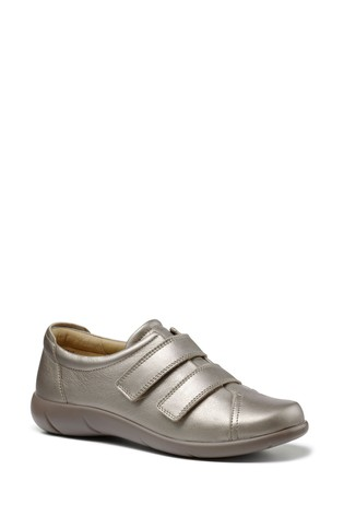 Hotter Leap Wide Fit Touch Fastening Trainers