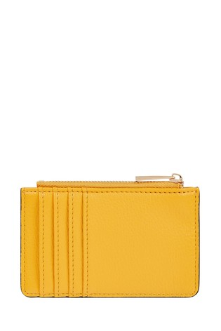 Accessorize Yellow Bee Charm Kate Wallet