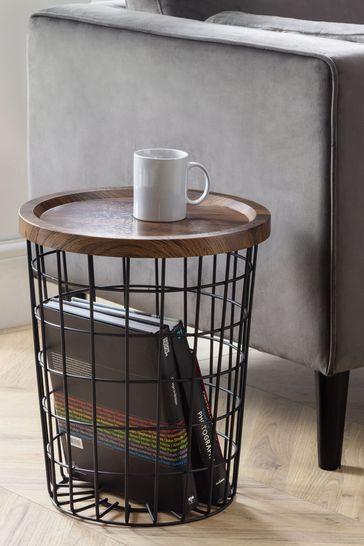 Smithson Storage Lamp Table by Julian Bowen