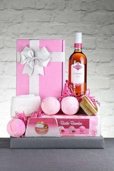 Zinfully Pink Rosé Gift Set by Le Bon Vin