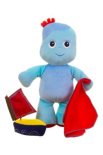In The Night Garden Soft Iggle Piggle With Wind Up Musical Boat