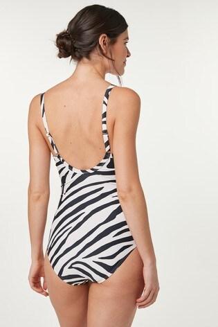Zebra Shape Enhancing Swimsuit