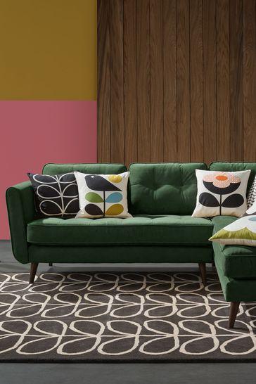 Orla Kiely Ivy Corner Sofa Left Hand Facing