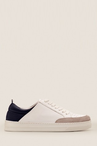 Boden White Emily Trainers