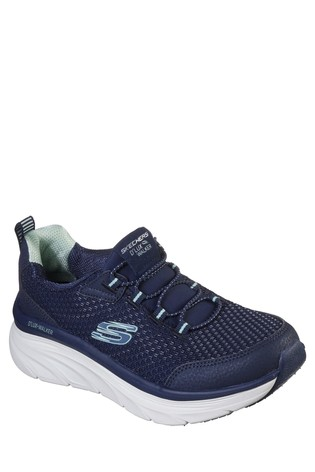 Skechers® Relaxed Fit D'Lux Walker Running Vision Slip-On Sports Trainers
