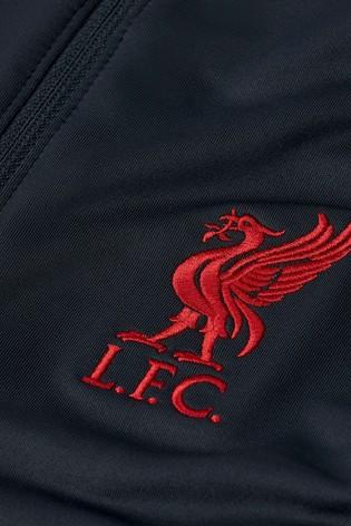 Nike Navy Liverpool FC Strike Drill Top