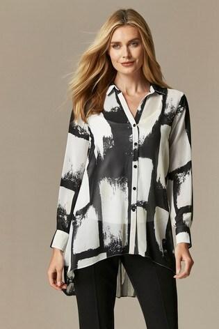 Wallis Mono Colourblock Shirt