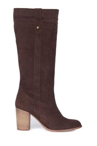 Barbour® Elena Knee High Block Heel Boots