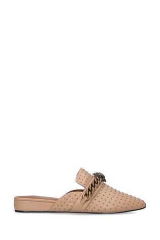 Kurt Geiger London Camel Chelsea Mule Shoes