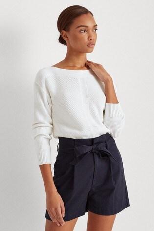 Lauren Ralph Lauren® White Avanyss Jumper