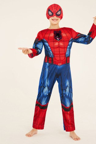 F&F Red Spider-Man Dress Up