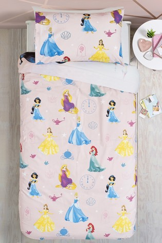 Disney™ Princess Reversible Duvet Cover and Pillowcase Set
