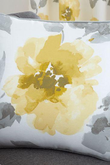 Fusion Yellow Adriana Cushion