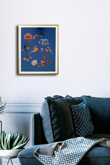Bird Floral Print by Arthouse